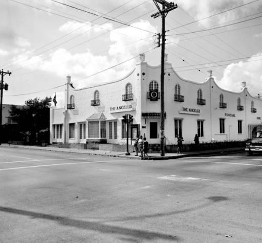 The Original Angelus Funeral Home on Houston Street