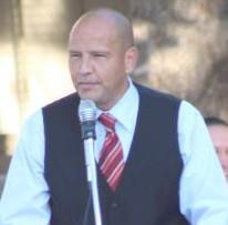SAISD board president Ed Garza