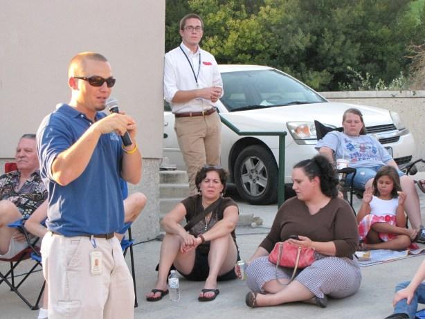 Matt Driffill of SARA at Bat Talks