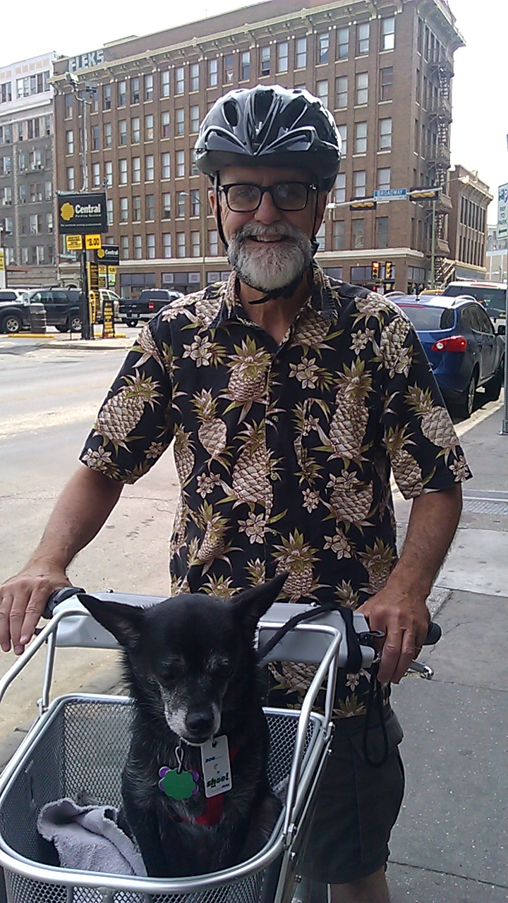 aul Young, San Antonio B-cycle's most loyal customer. Photo courtesy of Katherine Gainey/San Antonio B-cycle.