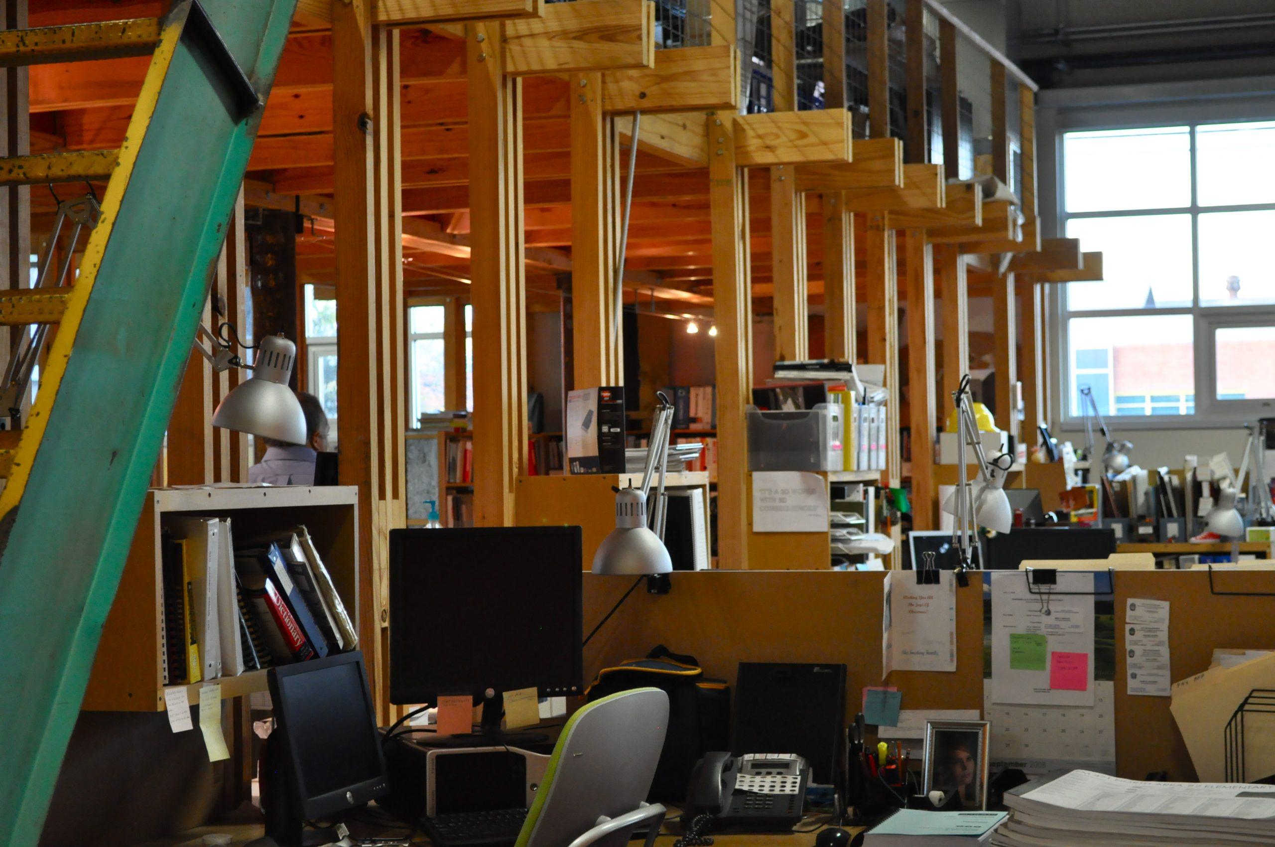 OCO Architects office space. Photo by Iris Dimmick.