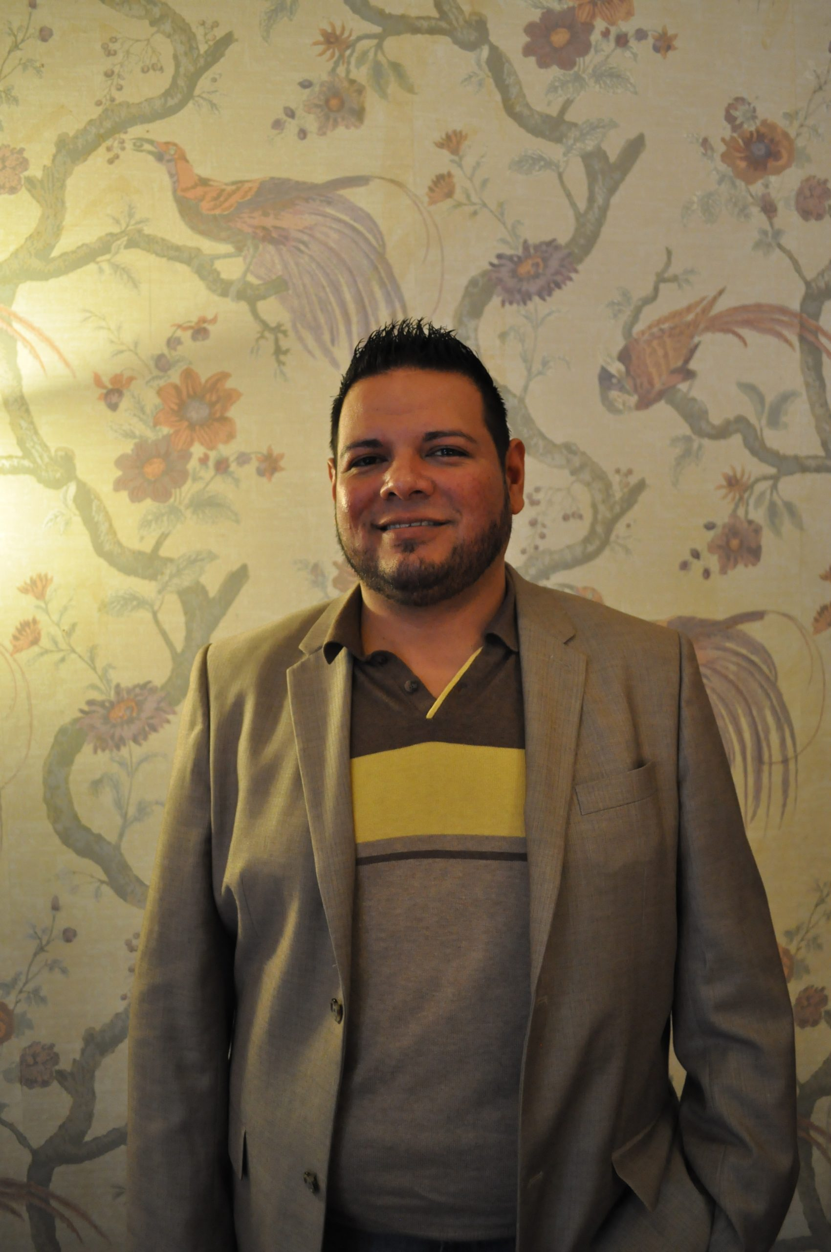 Robert Salidos, membership chair for the local chamber and local sales representative at Liberty Mutual Insurance.