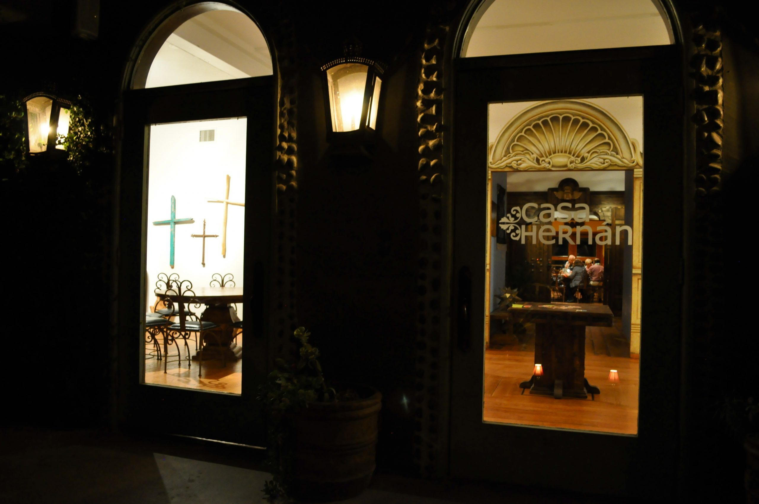 Chef Johnny Hernandez' Casa Hernan. Photo by Iris Dimmick.
