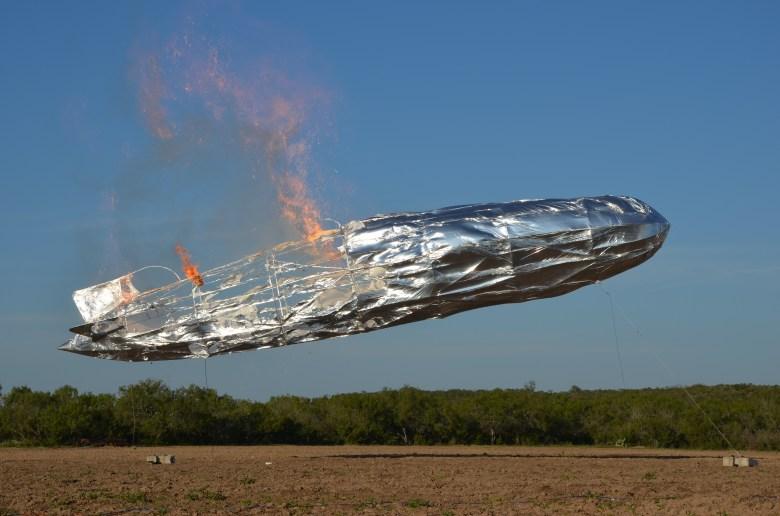 SwRI/Curiosity model Hindenburg. Photo courtesy of Matthew Blais.