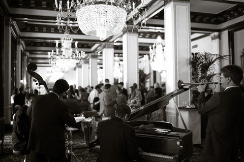 South Texas Jazz performing at Luke.