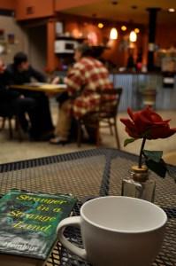 Coffee. Rose. Stranger in a Strange Land.