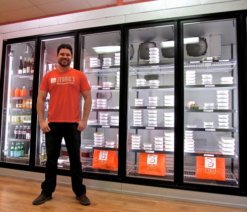 Zedric's Executive Chef Zach Lutton at the new Alamo Heights location . Photo courtesy of Zedric's.