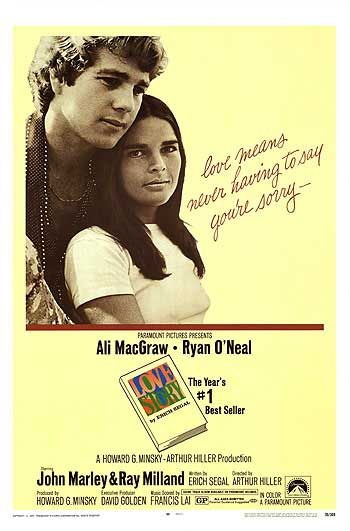 Love Story (1970). Image from Wikipedia.