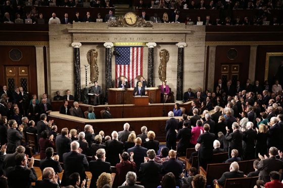 President Barack Obama delivers the State of the Union address in the House Chamber at the U.S. Capitol in Washington, D.C., Feb. 12, 2013. (Official White House Photo by Chuck Kennedy.)