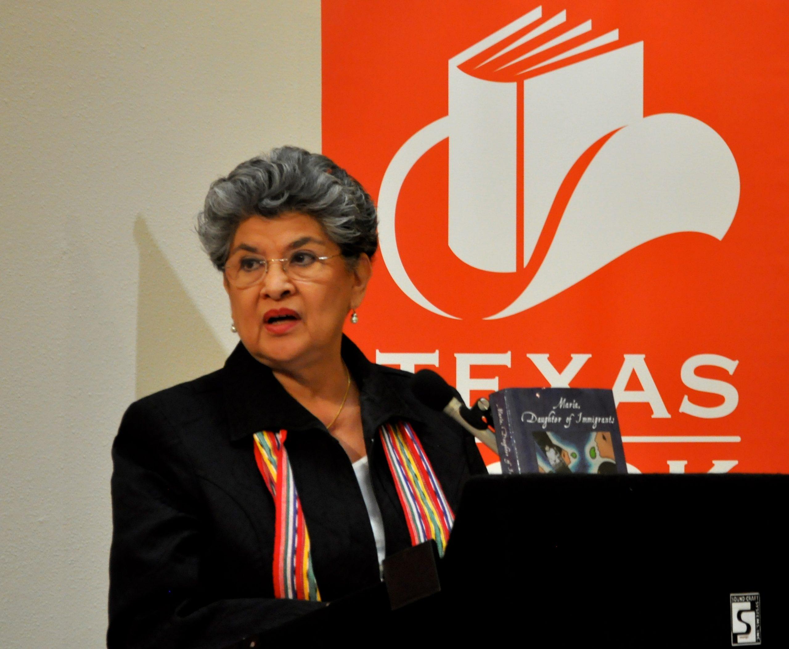 Former San Antonio City Councilwoman, mayoral candidate and author María Antonietta Berriozábal