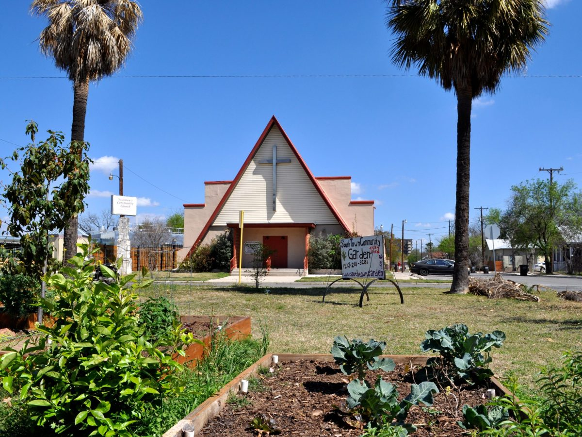 The Southtown Community Garden at 1002 S. Presa St. was officially launched in 2007.