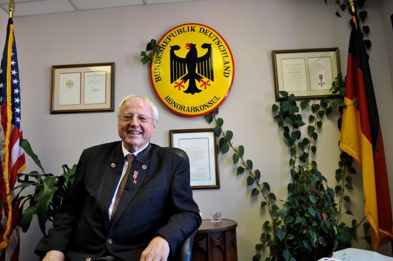 "San Antonio lawyer and longtime Honorary German Consul Bernard ""Ben"" Buecker."