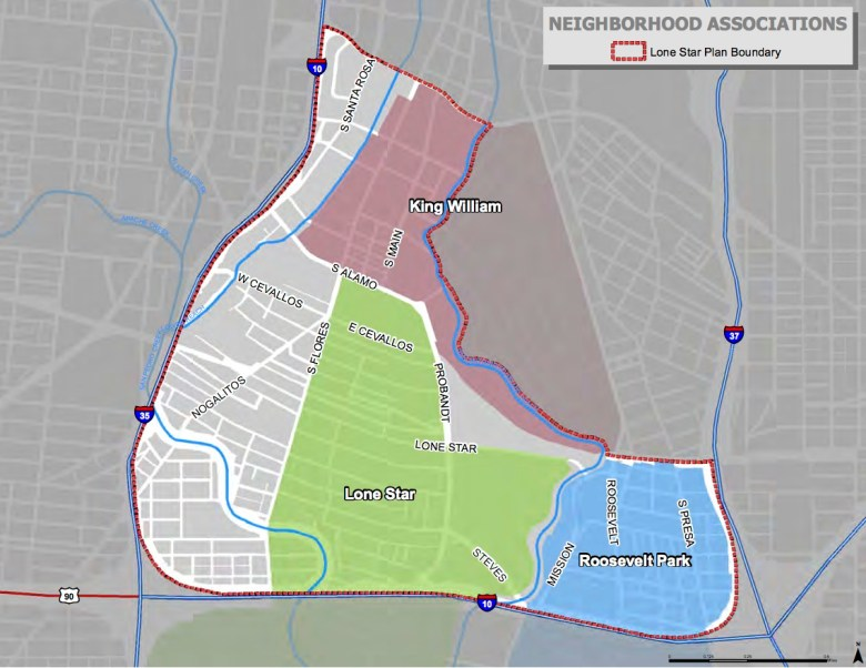 Image from the Lone Star Community Plan draft.