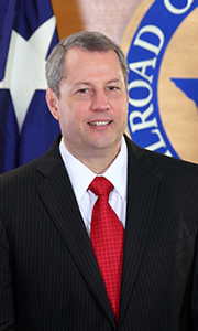 Texas Railroad Commissioner David Porter.