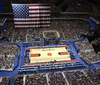 Basketball at the Alamodome. File Photo.