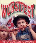 Wurstfest promotional ad.