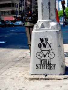Hopeful graffiti in New York City. Photo by Tom Trevino.
