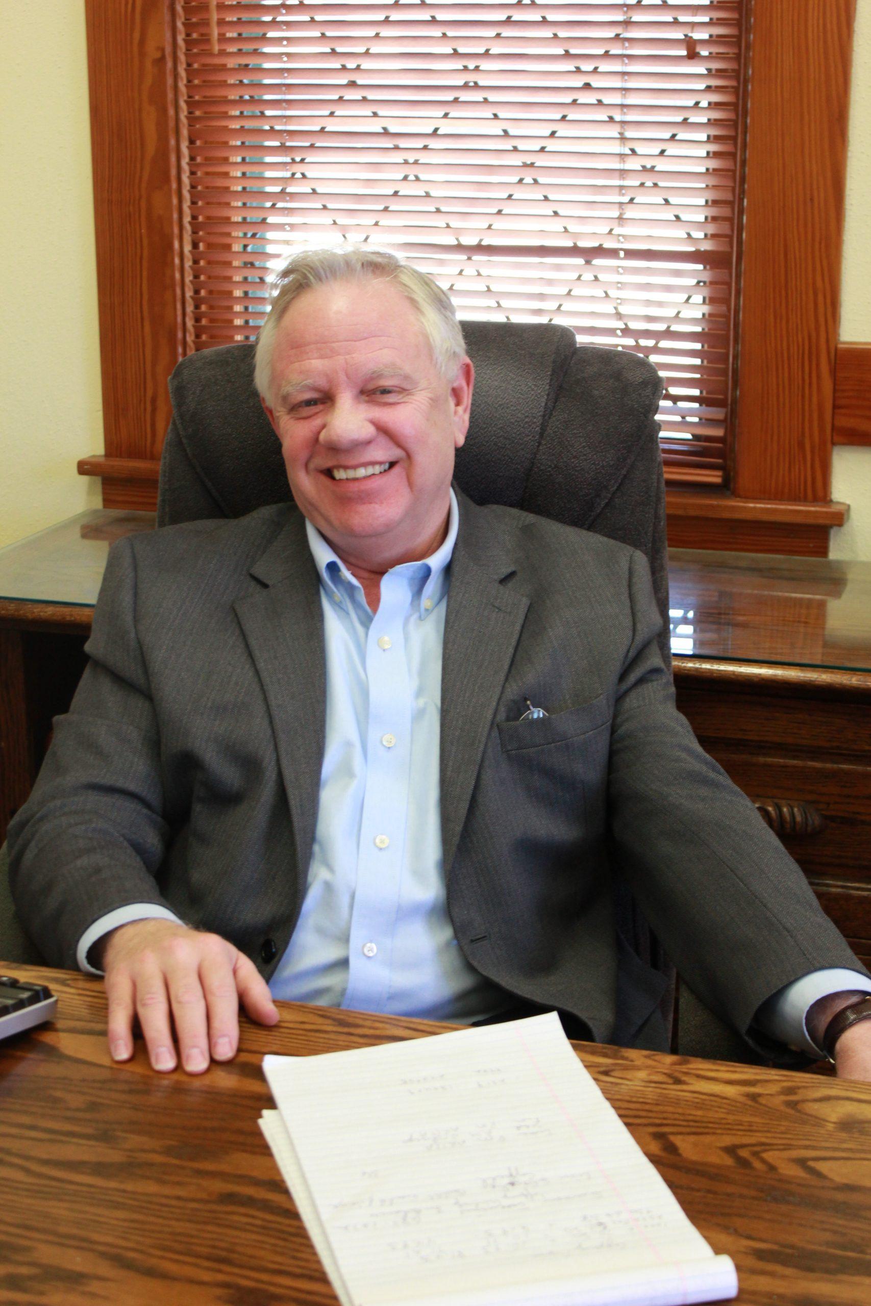 The boss man, John Toohey Executive Director of ARTS SA, is all smiles this season. Photo by Melanie Robinson.
