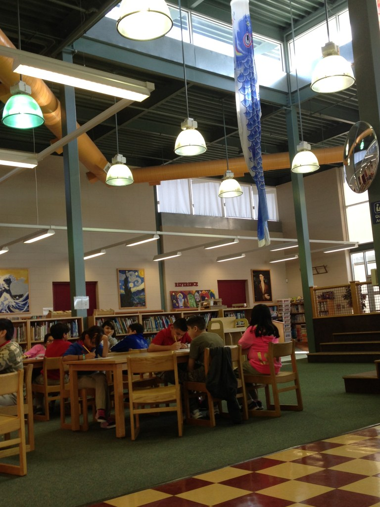 The Library at Hawthorne Academy. File photo.