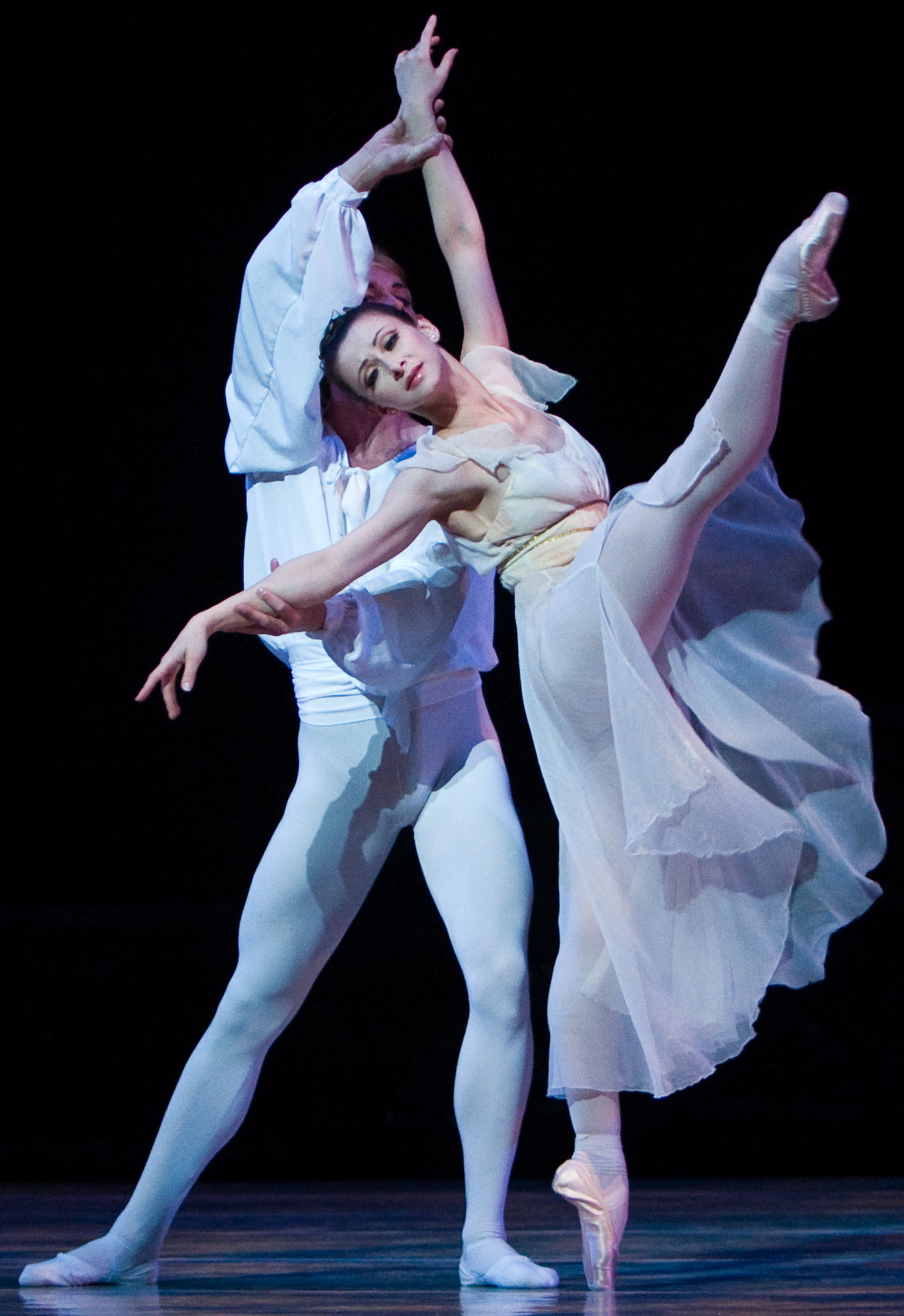 Prima Ballerina Olga Pavlova and Principal Dancer Yevgeni Anfinogenov. Photo by Edward Casati, courtesy of ARTS SA.