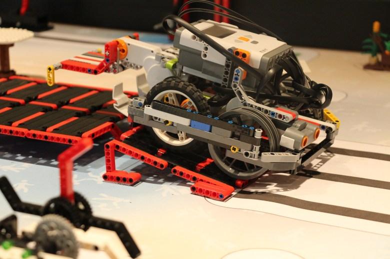 The Randomists' robot.  (Photo courtesy of Diane Clements)