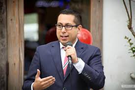 District One Councilman Diego Bernal at an event earlier this year. Courtesy photo.