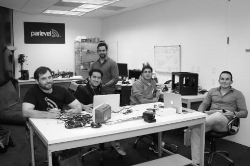 ParLevel Systems Left to right: Jeremy Zunker, Alfonso Garcia-Guadalajara, Rafael Barroso, Walter Teele, Luis P. Gonzalez-Cuatro Cienegas