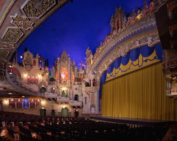 Interior of the Majestic Theatre. Photo(s) courtesy of Majestic Theatre & Charline McCombs Empire Theatre.