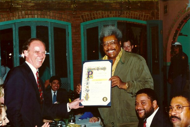 Nelson Wolff and Don King