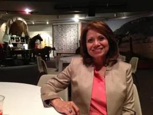 P-20 Assistant Vice President Rachel Ruiz. Photo by Bekah McNeel.