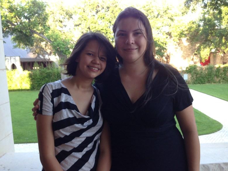 Joaquina Guevara and Laura Salazar