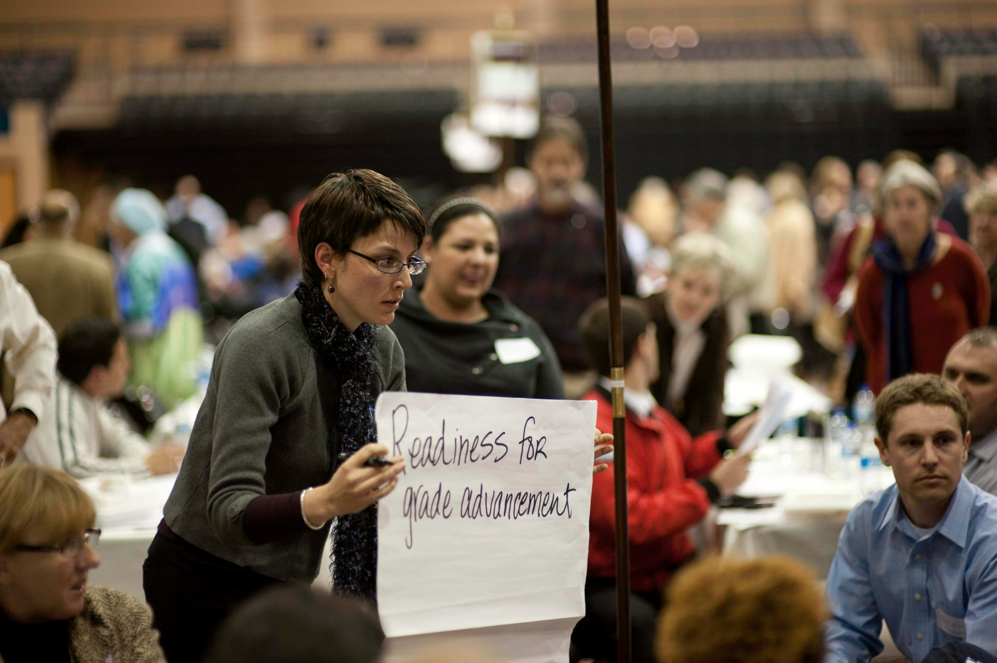This is me, at one of the first SA2020 public meetings. Forgive my hair. Photo courtesy of SA2020.