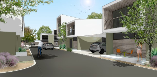 Plans for 519 Roosevelt Ave. courtesy of Sprinkle & Co. Architects