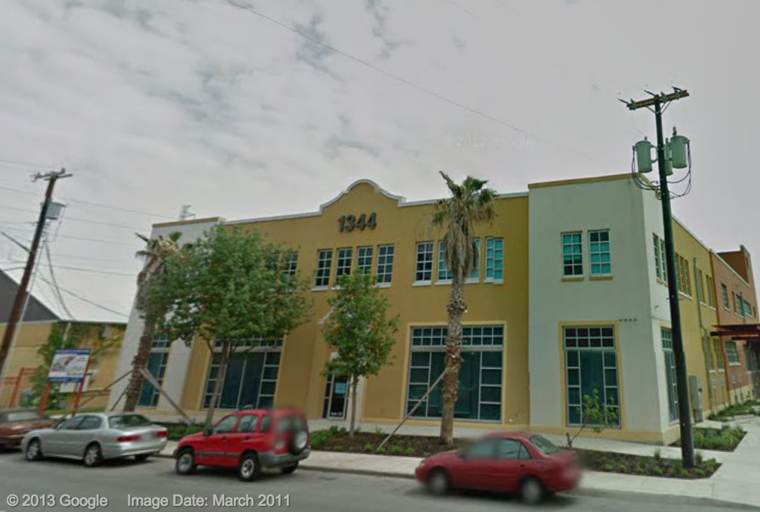 1344 South Flores. Google Maps image.