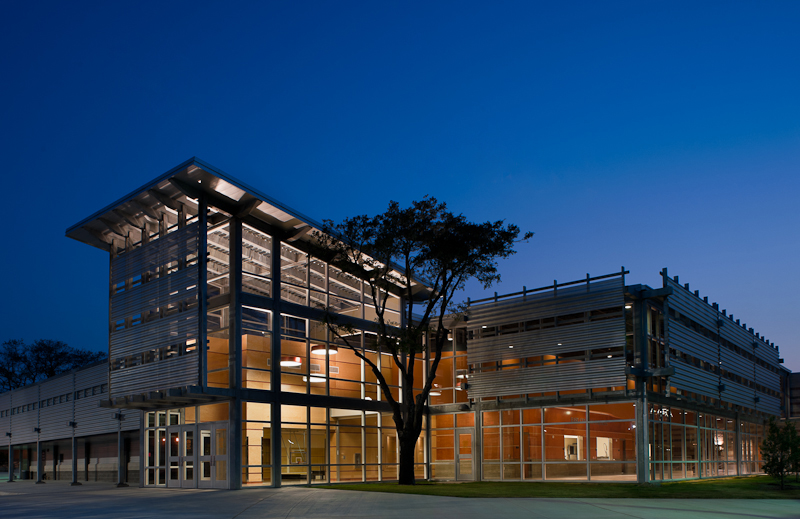 OCO Architects' East Central High School, completed in 2011. Courtesy photo.