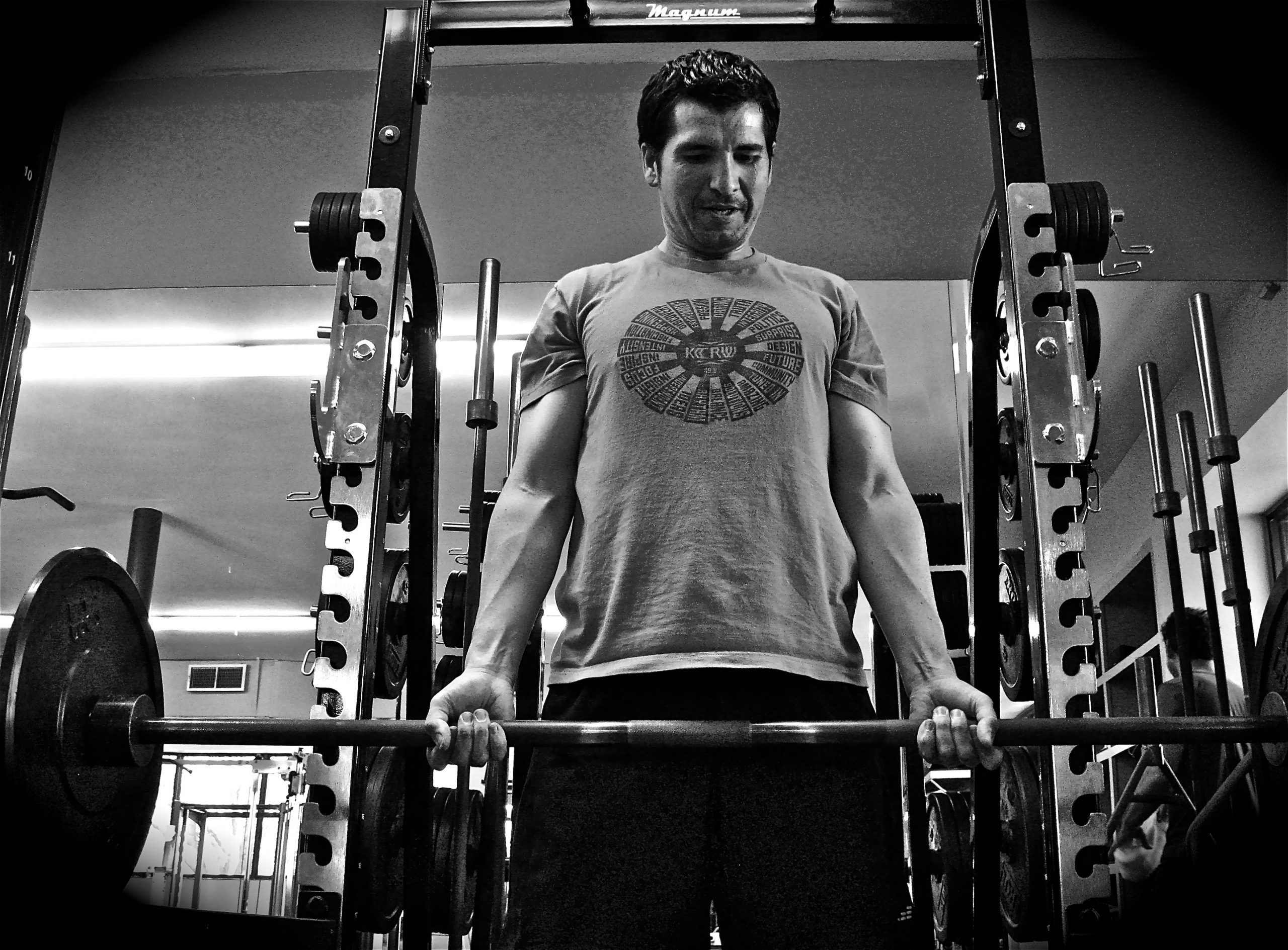 Tom Trevino, MBS personal trainer, makes time for his own fitness first. Courtesy photo.