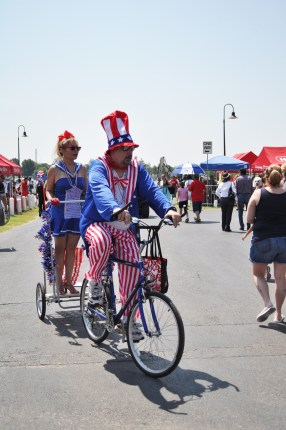 Uncle Sam is quite the gentleman. Photo by Annette Crawford.