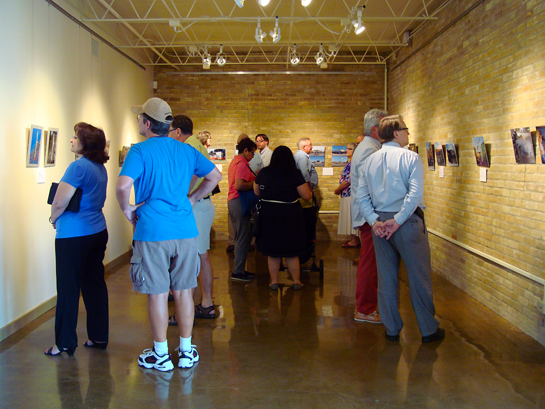 """Aug. 22 at the Villa Finale Visitor Center exhibit opening, """"Somos San Antonio – We Are San Antonio 2013: Places That Once Were."""""""