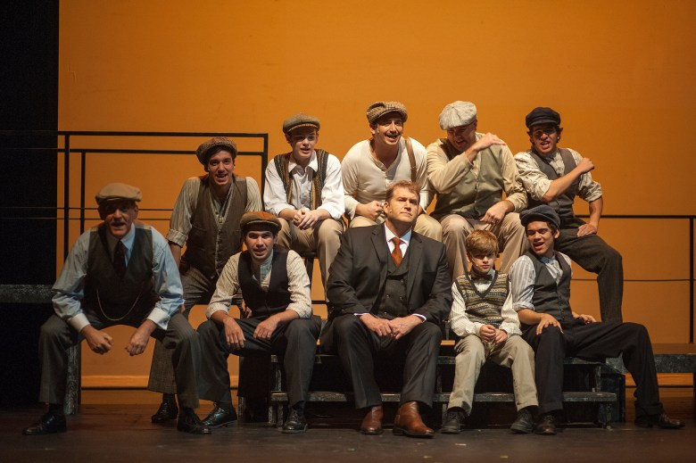 """A scene from Playhouse's production of """"Ragtime."""" Photo by Dwayne Green."""