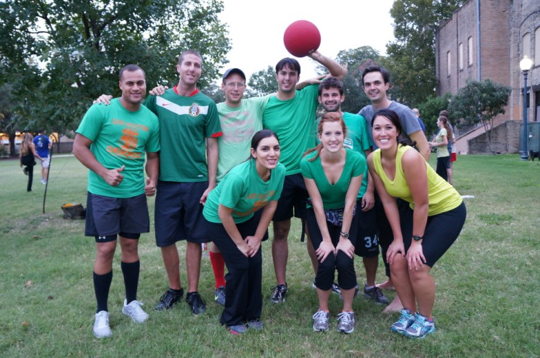 Ryan Bigley and Scott Gustafson's team, Ballsagna (formerly Dream Team formerly The Newcomers). Photo by Vanessa Mulholland.