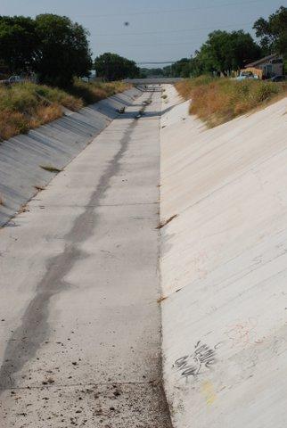 "Uresti's ""road"" to school. Photos courtesy of Carlos Uresti."