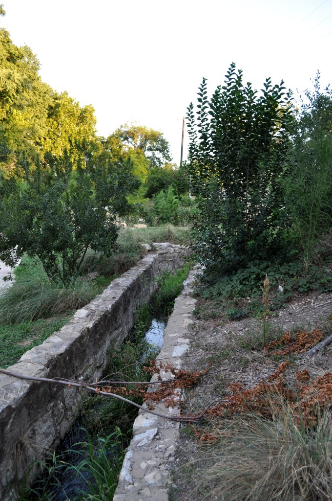 The Upper Labor Acequia in Brackenridge Park. Photo by Iris Dimmick.