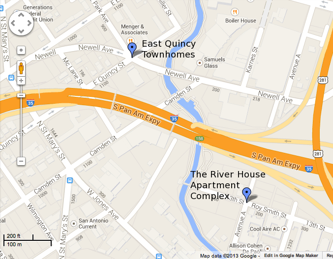 East Quincy and River House