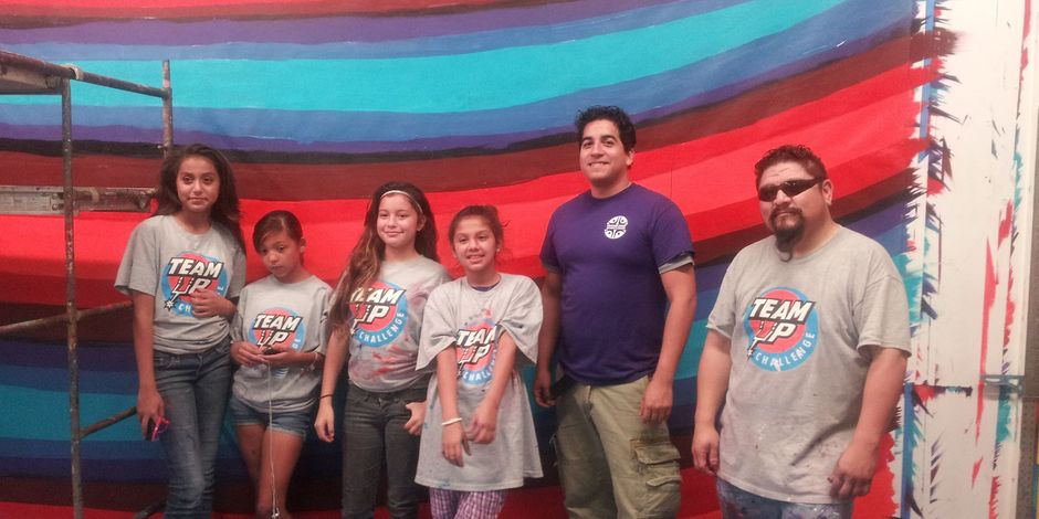 The mural team from San Anto Cultural Arts. Courtesy photo.