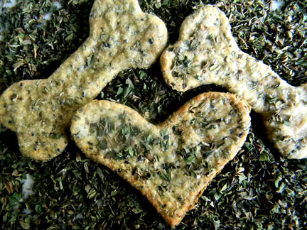 Puppermint Dog Treats! One of my favorites! Photo by PAWsitively Sweet Bakery.
