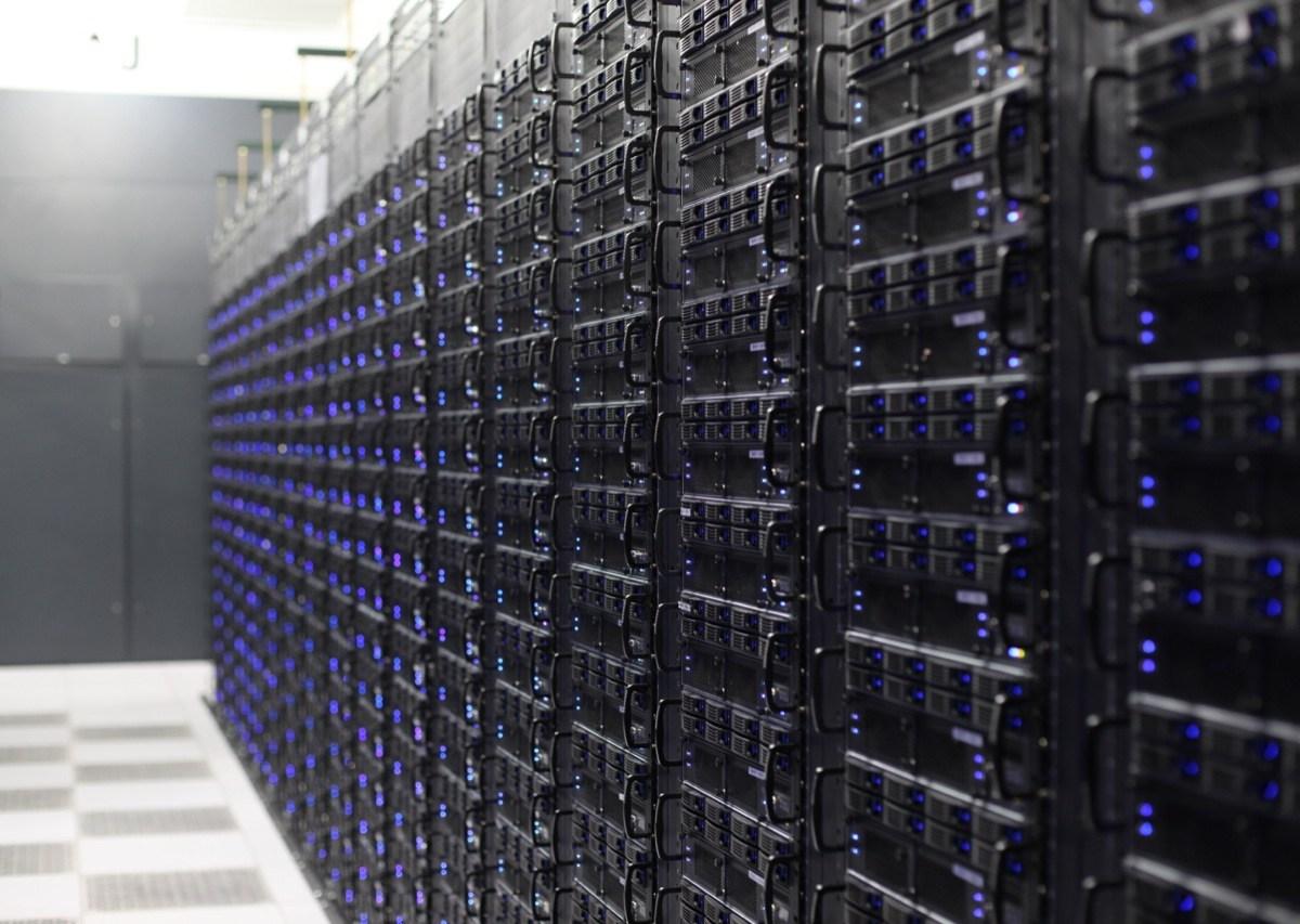 Rackspace servers. Courtesy photo.