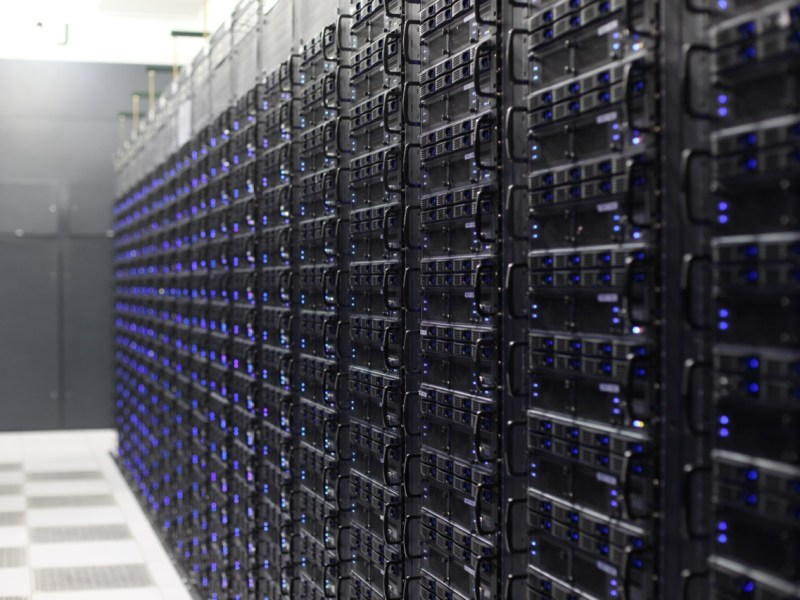 Rackspace servers. Courtesy photo.