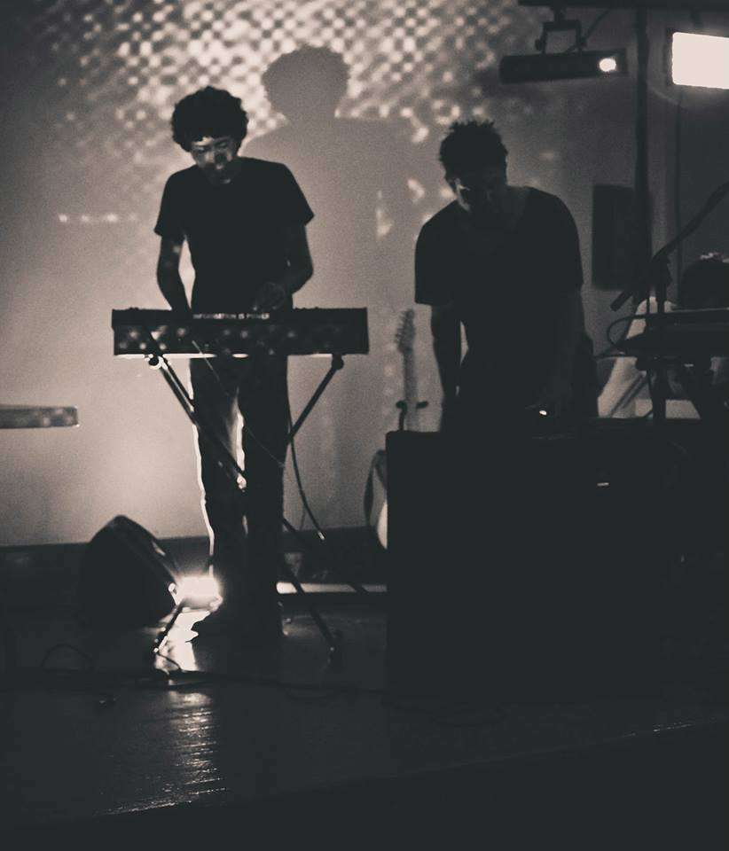 This is Mixed Use Media performing as a duo for the first time at Collision 2013 in Austin.