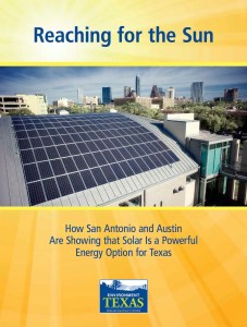 """Click to download Environment Texas' report, """"Reaching for the Sun."""""""