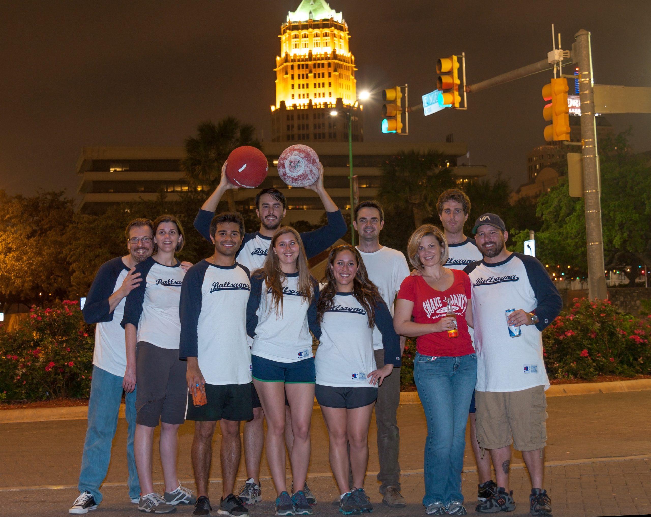 Downtown Kickball, one of many emerging staples of downtown San Antonio. Courtesy photo.